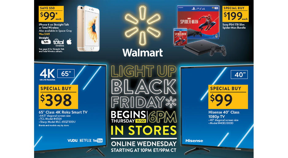Black Friday is here, and Walmart has the goods