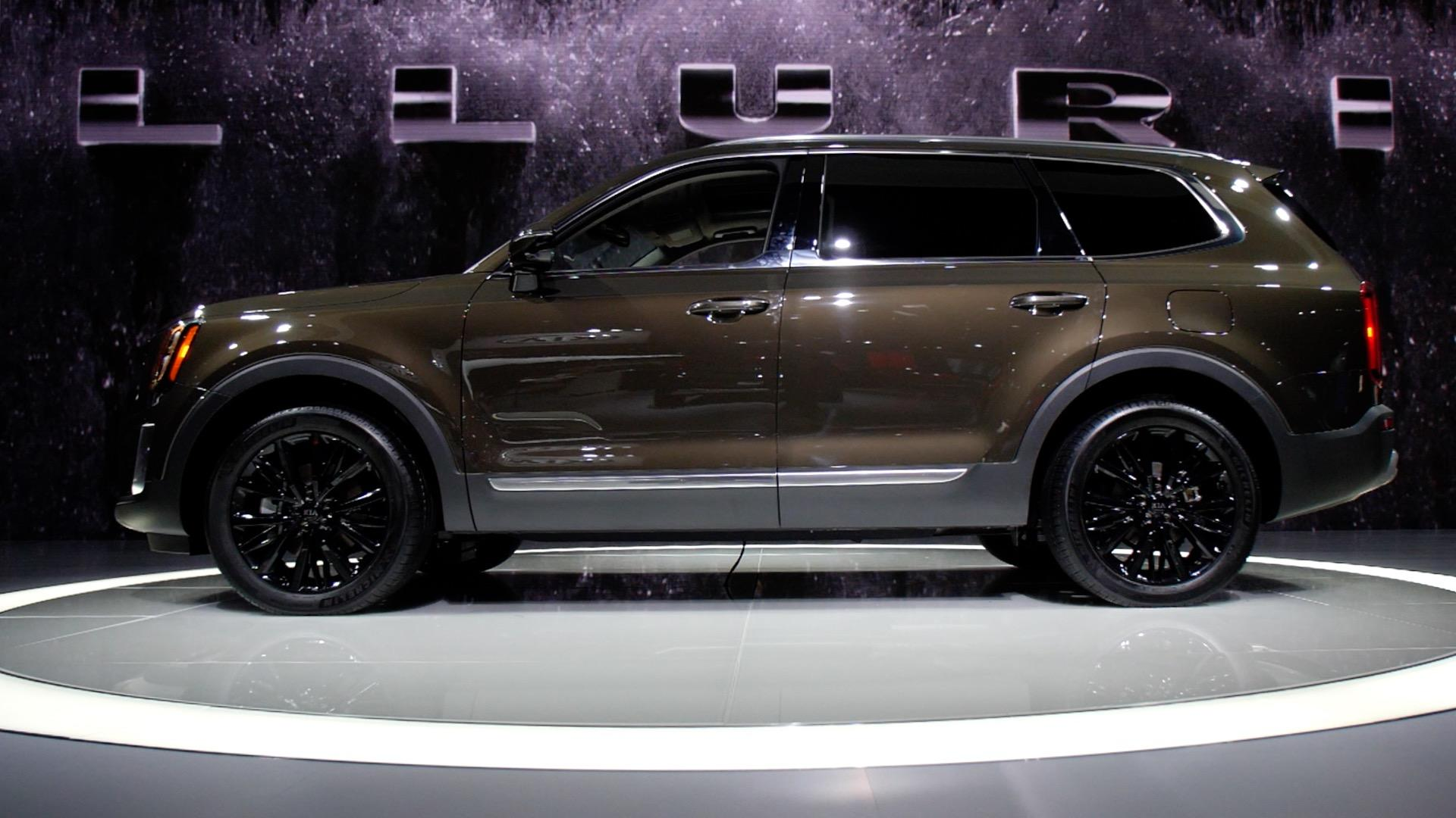 Video: Big, boxy Telluride joins the Kia SUV lineup