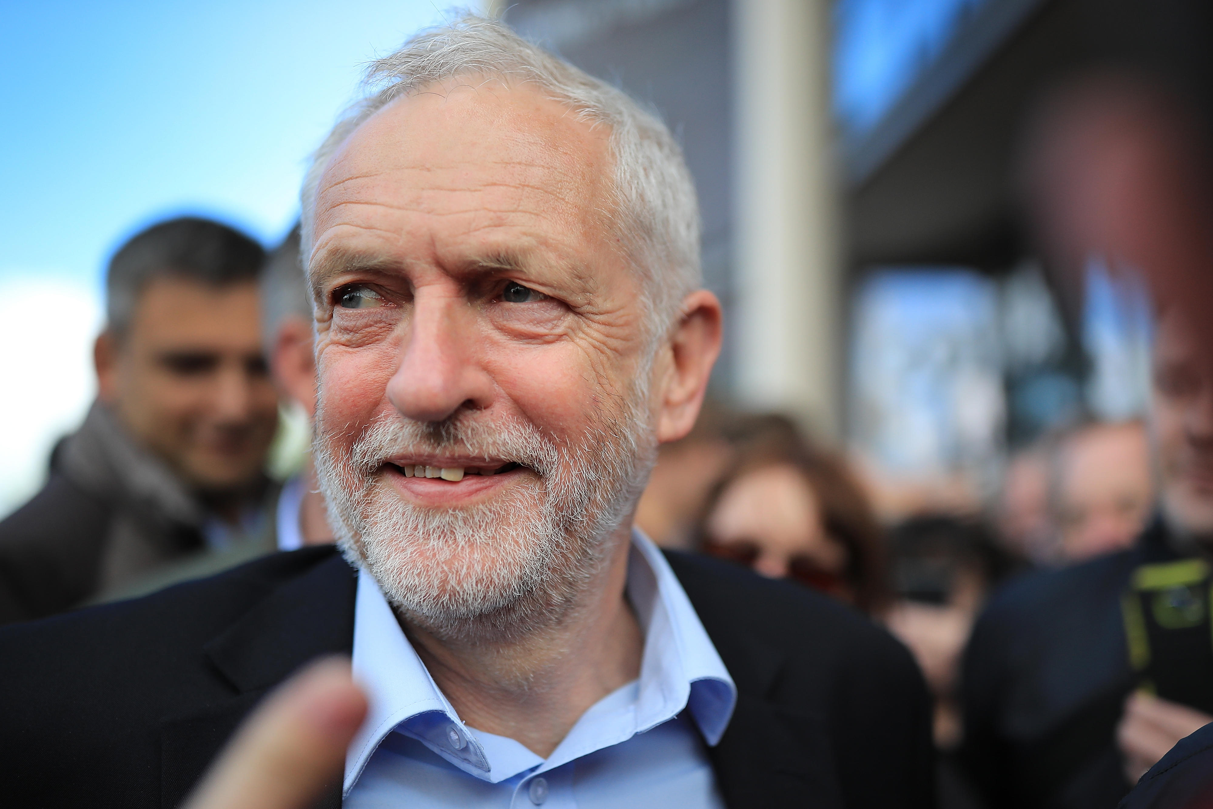 Jeremy Corbyn Campaigns In The West Midlands