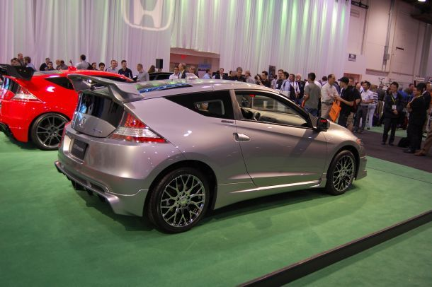 2011 Honda CR-Z with Mugen accessories