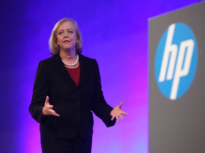Hewlett-Packard CEO Meg Whitman has said there's renewed interest in traditional PCs over tablets in business.