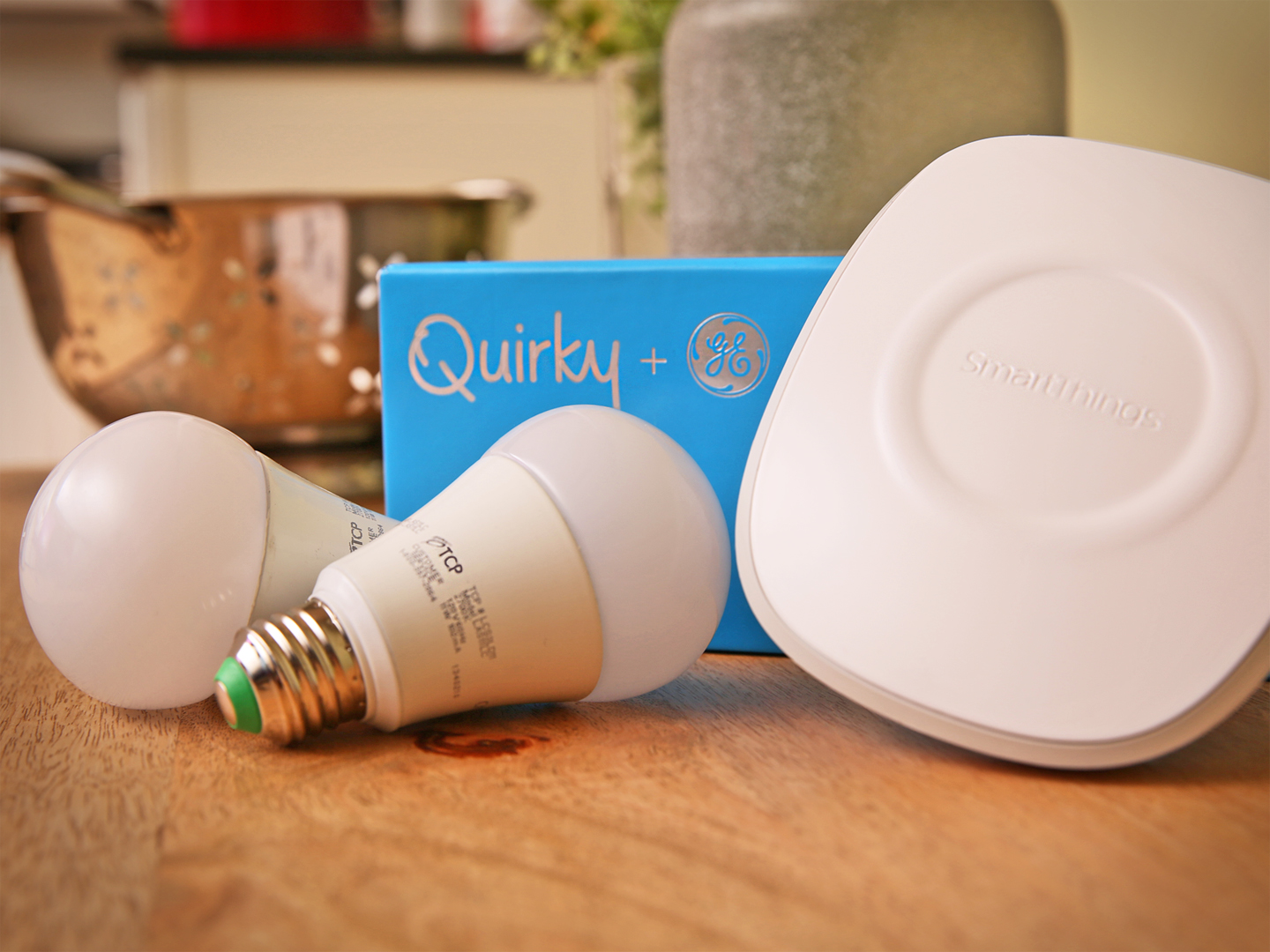 SmartThings and the Connected by TCP Wireless LED Lighting Kit