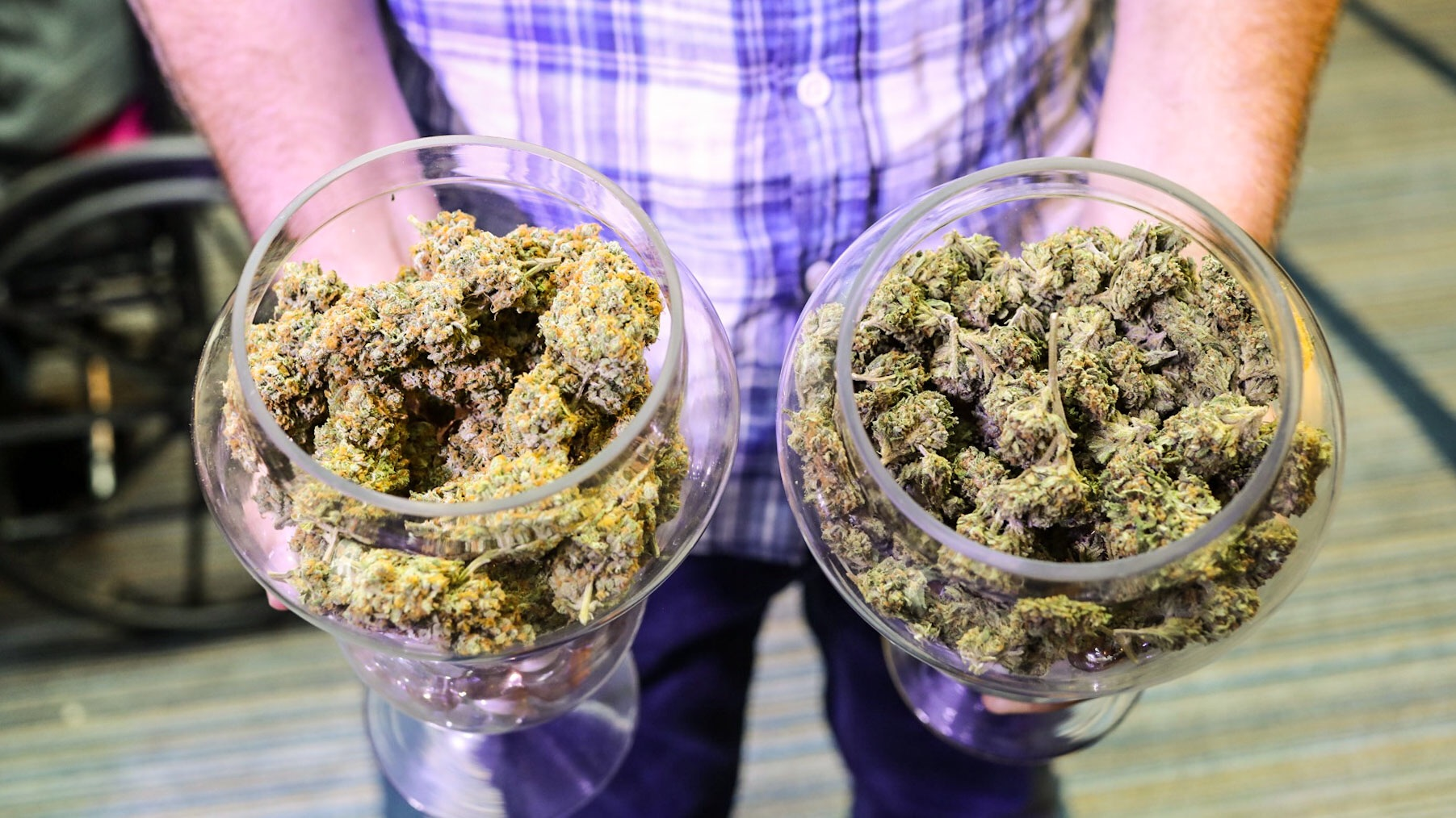 The New West Summit was about the business side of marijuana. But there was still plenty of weed to be found.