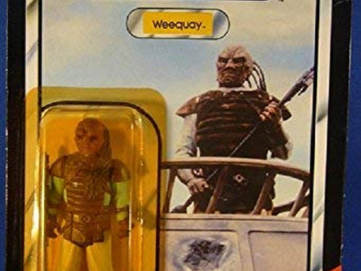 1983 Weequay Return of the Jedi action figure