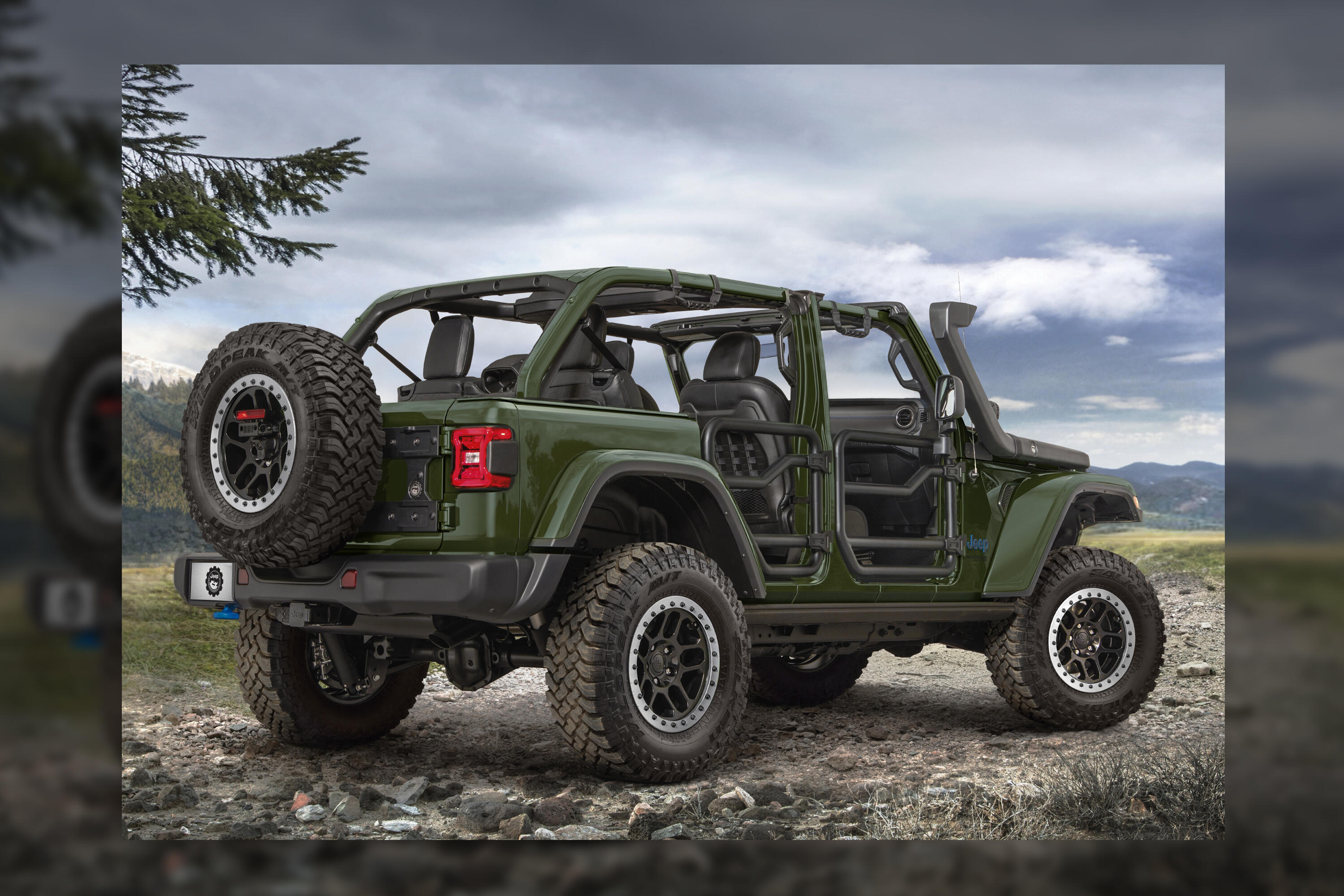 2021 Jeep Wrangler 4xe Accessories - trail rated