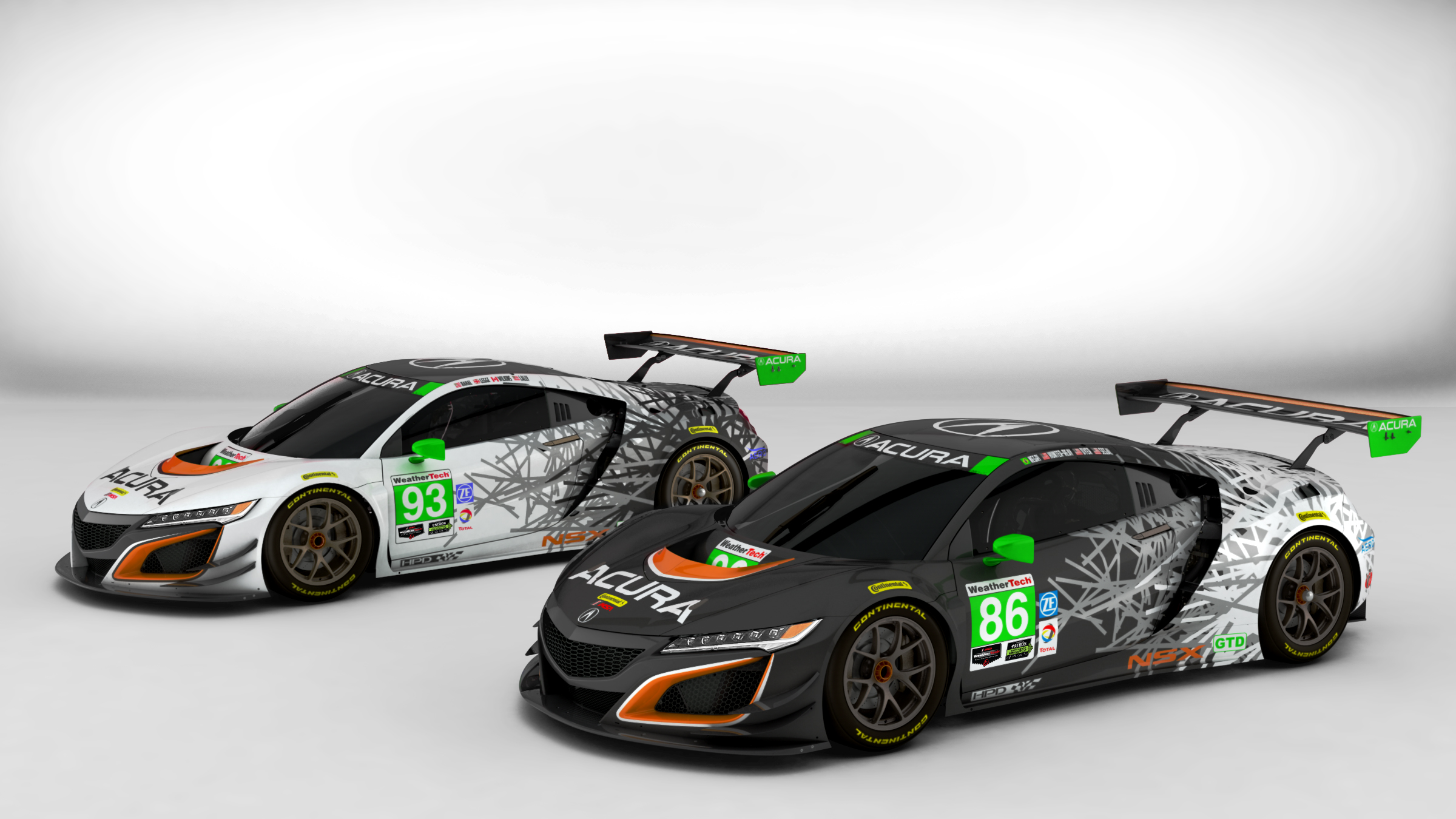 Acura NSX GT3 Livery 1