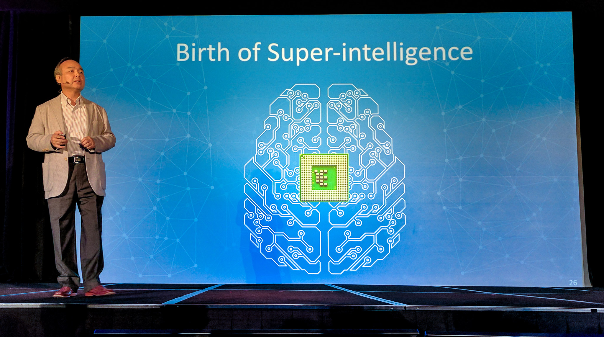 Masayoshi Son predicts superintelligence