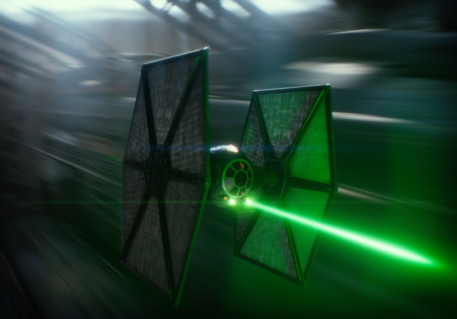 10. First Order-era TIE fighter
