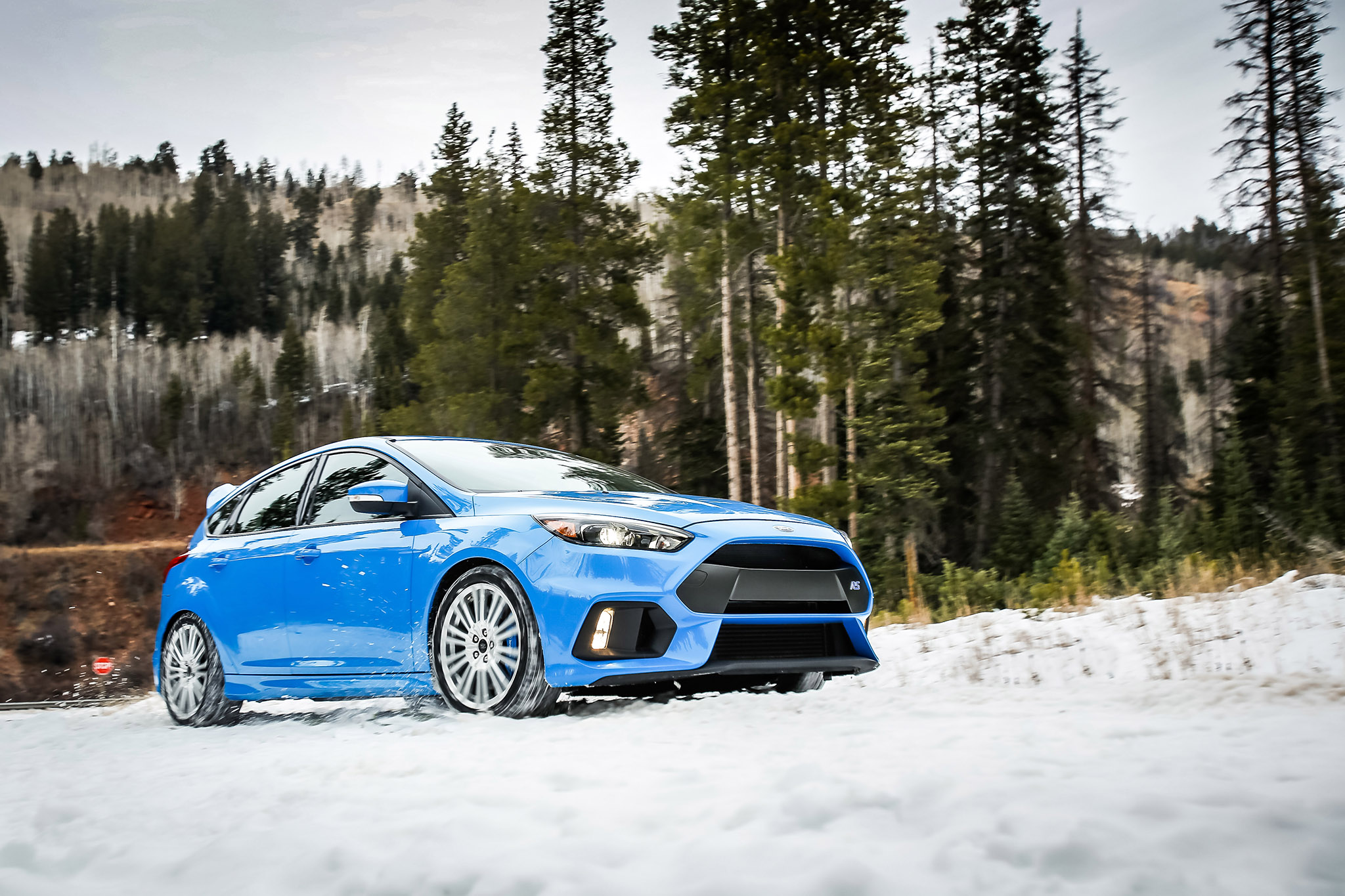 Focus RS Winter Wheels and Tires