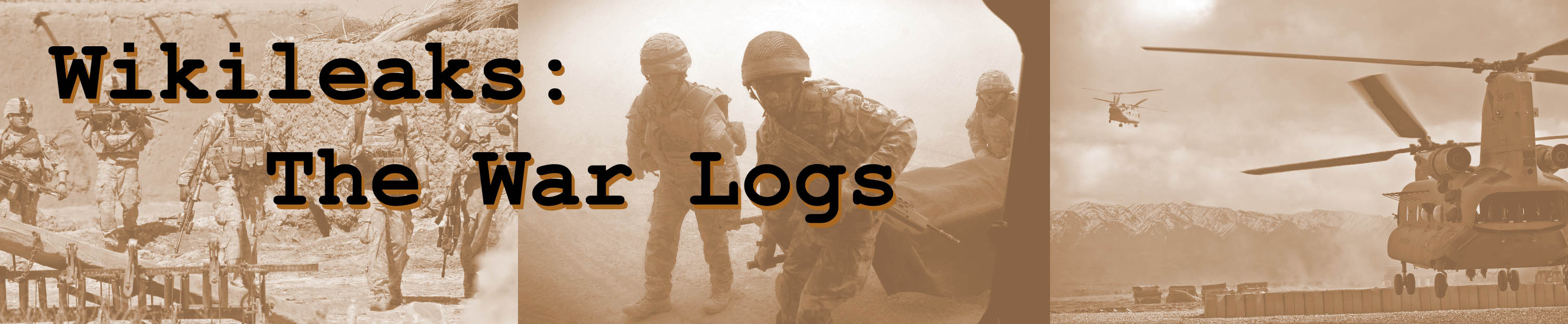Wikileaks and Afghanistan: The War Logs