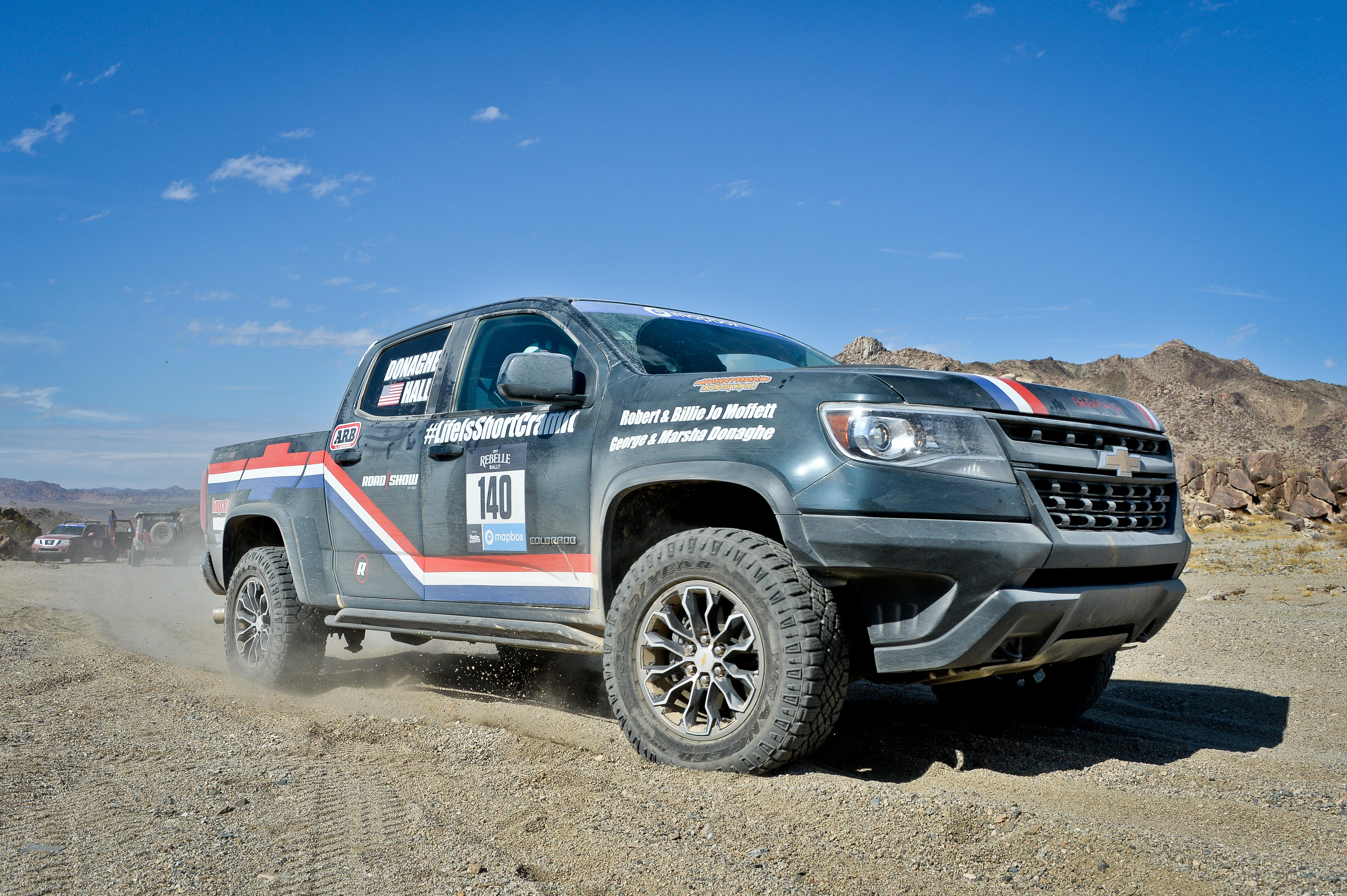 2017 Chevrolet Colorado ZR2 Rebelle Rally