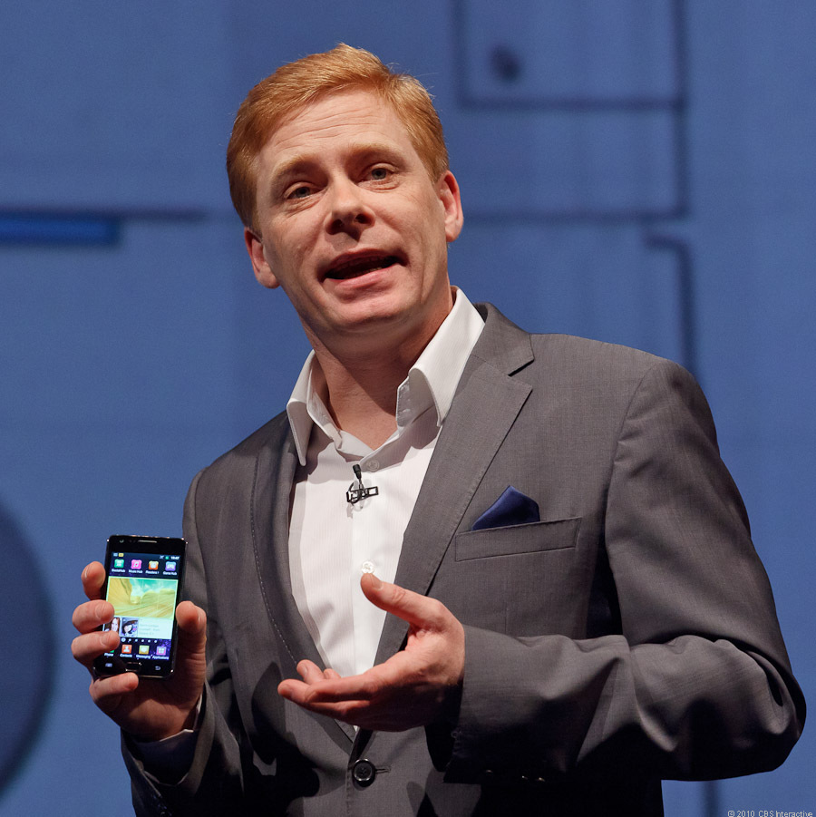 Andrew Coughlin, head of account for Samsung Europe