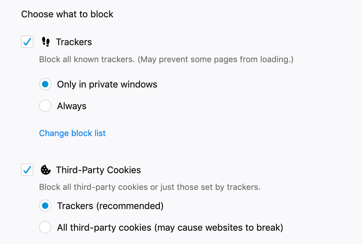 firefox-tracking-protection-options