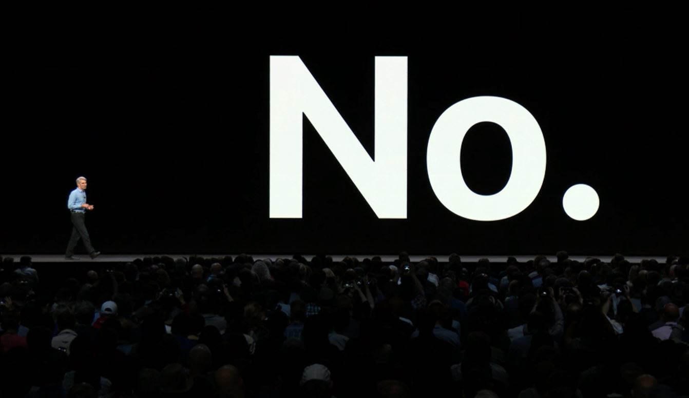 Will Apple merge MacOS and iOS? No, says Craig Federighi, Apple's senior vice president of software engineering at WWDC 2018.
