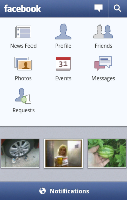 Facebook for Android 1.3.0