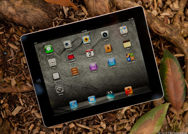 Apple's fourth-generation iPad.