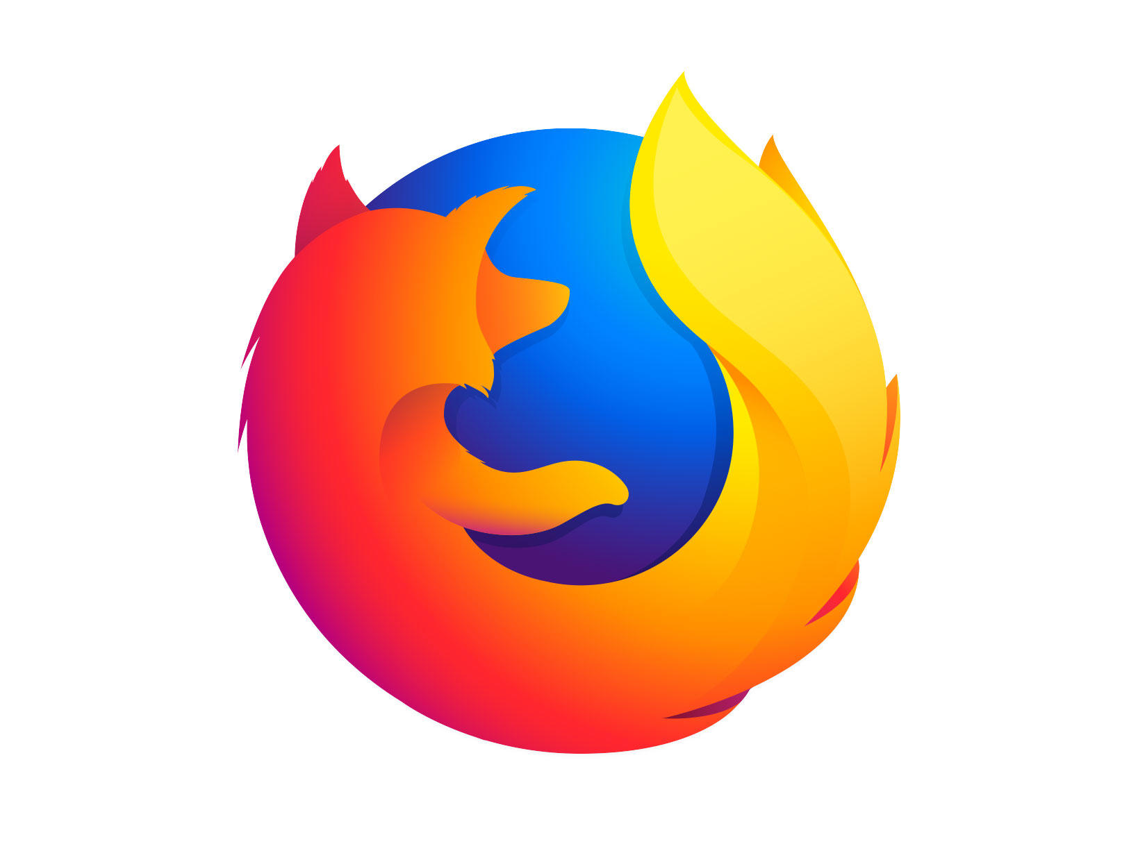Firefox Quantum sports a simpler logo than earlier versions of Mozilla's browser.