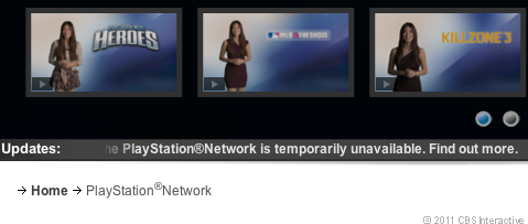 On Friday, Sony's PlayStation Network continued to be inaccessible.