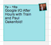 Google+ Events puts your RSVPs in your calendar.