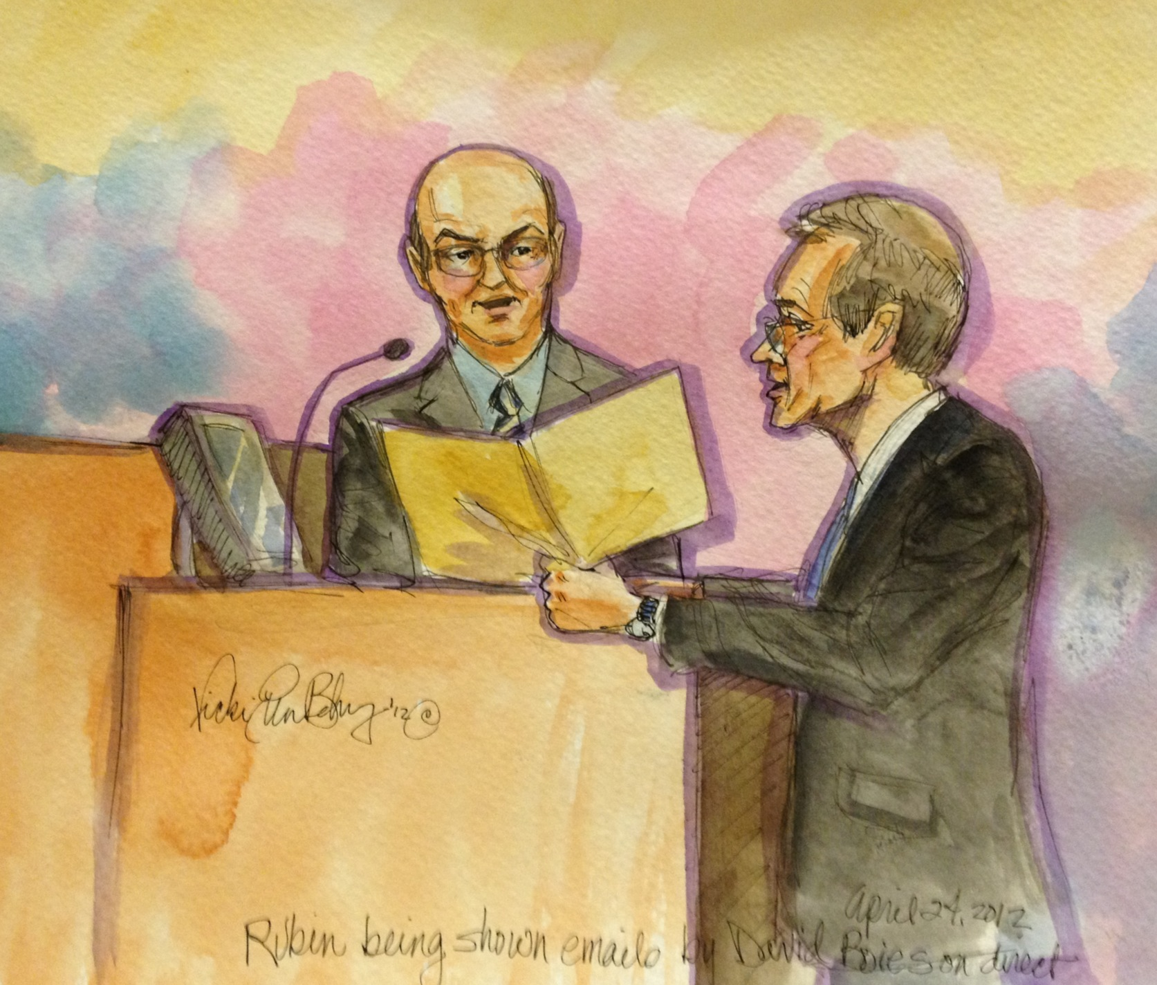 Andy Rubin on the stand