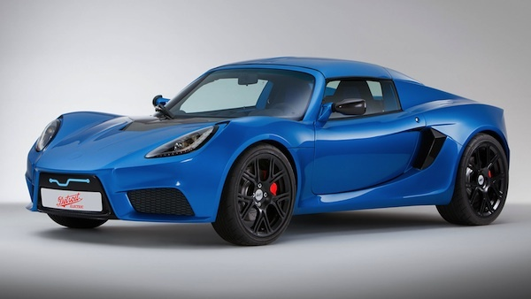 The Detroit Electric SP:01: its lithium polymer batteries give the SP:01 a range of 180 miles (288 km), the company said.