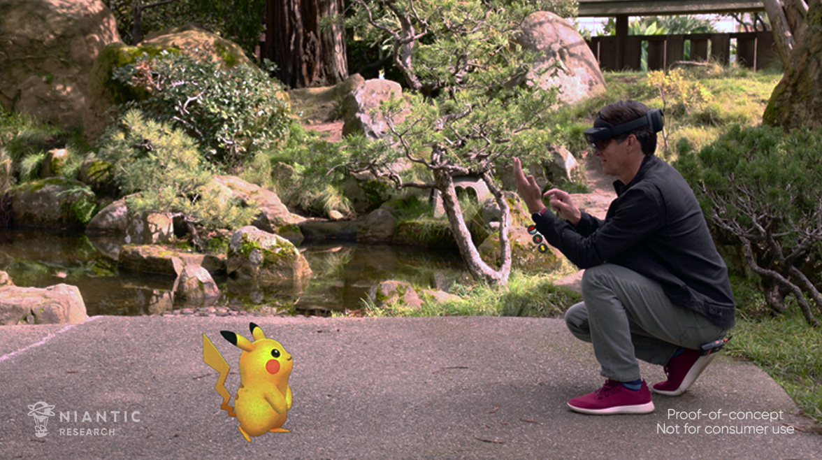 Video: Microsoft demos Pokemon Go on HoloLens 2