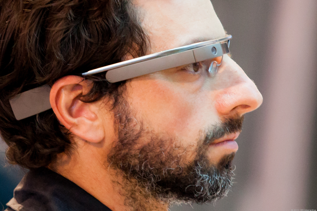 Sergey Brin wears Glass