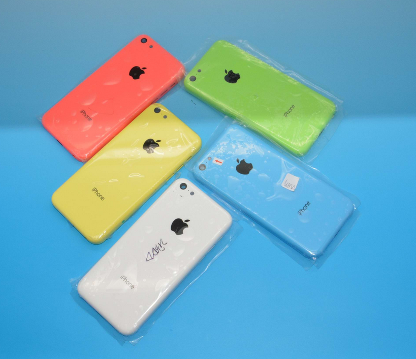 A slew of purported iPhone 5C casings, all set to go.