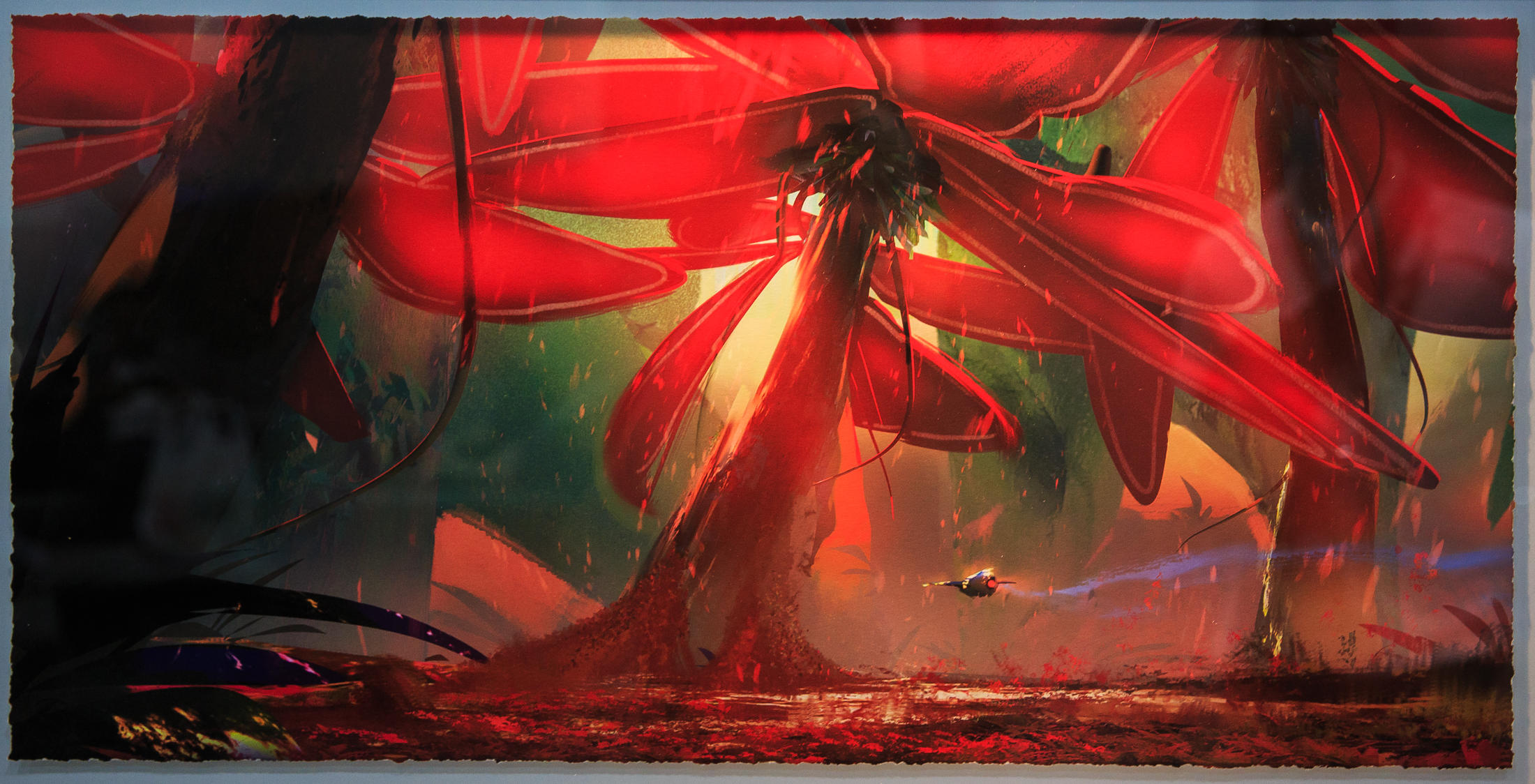Pollen Field by Victor Mosquera
