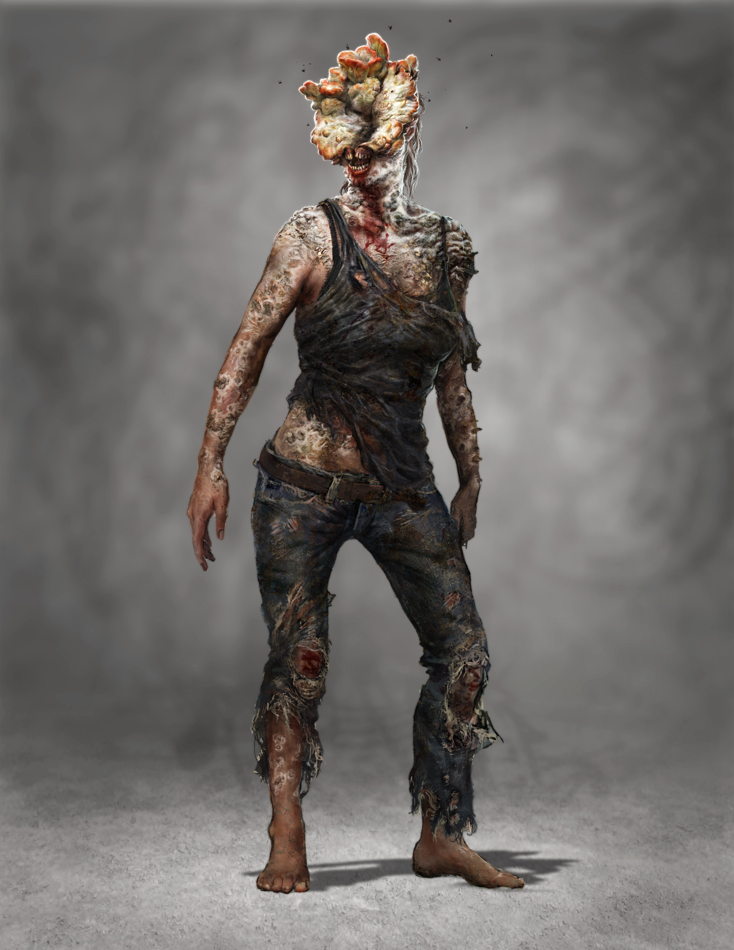 Infected woman
