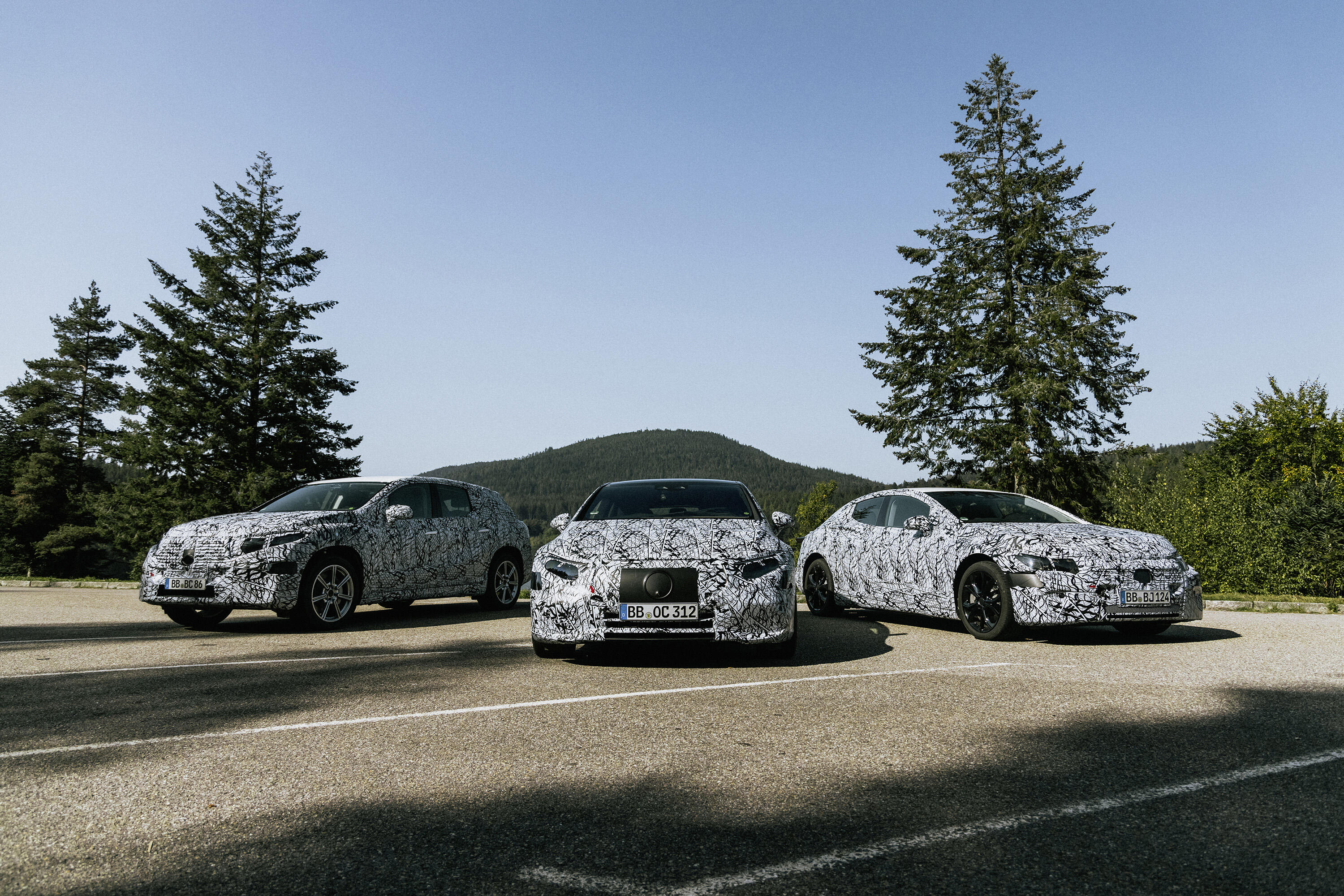 Mercedes-Benz EQ lineup