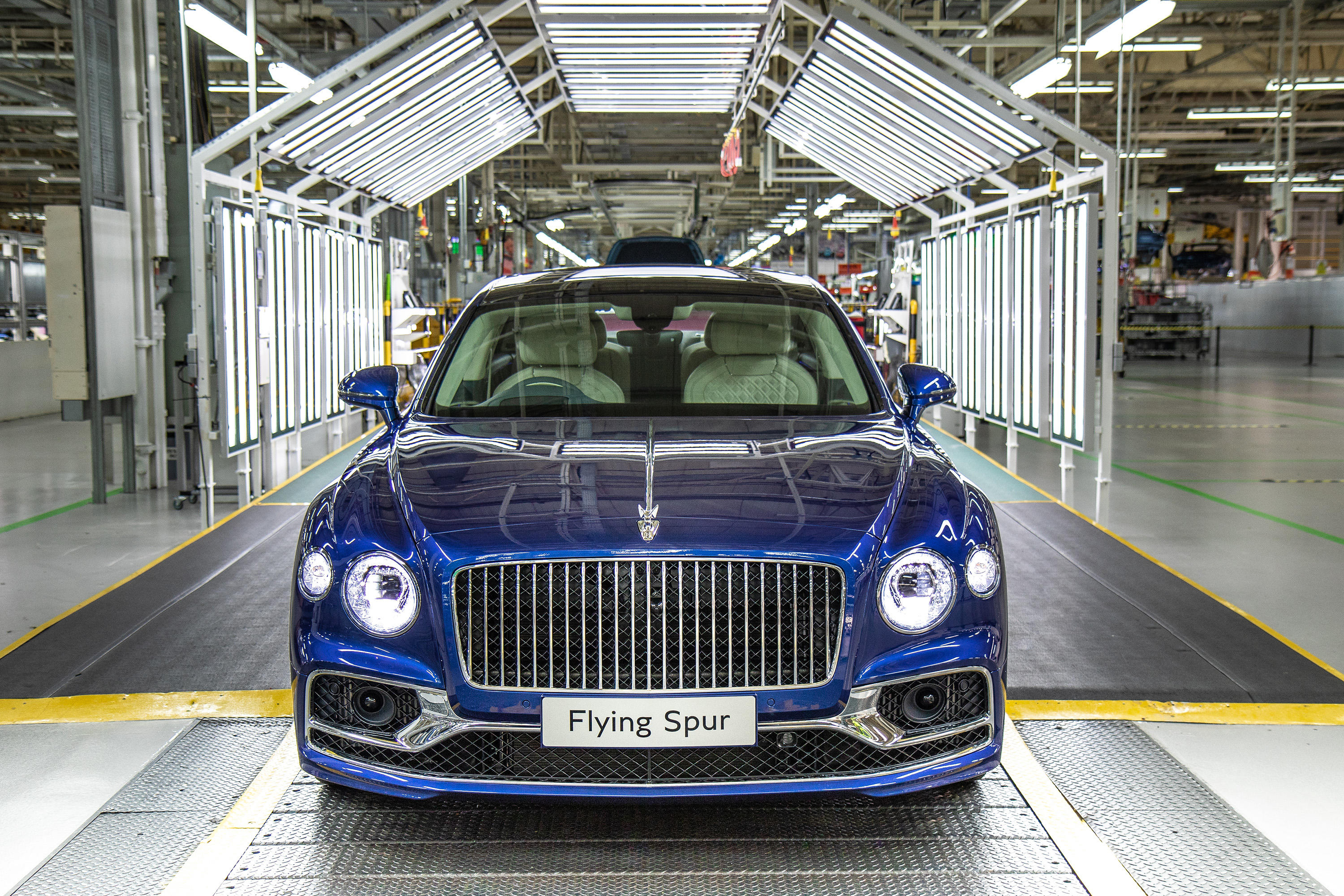 2020 Bentley Flying Spur production