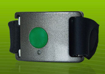 Affectiva's Q Sensor can be used to discern some emotional information.