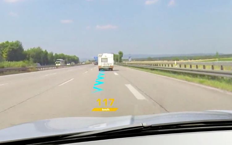 Continental Augmented Reality HUD