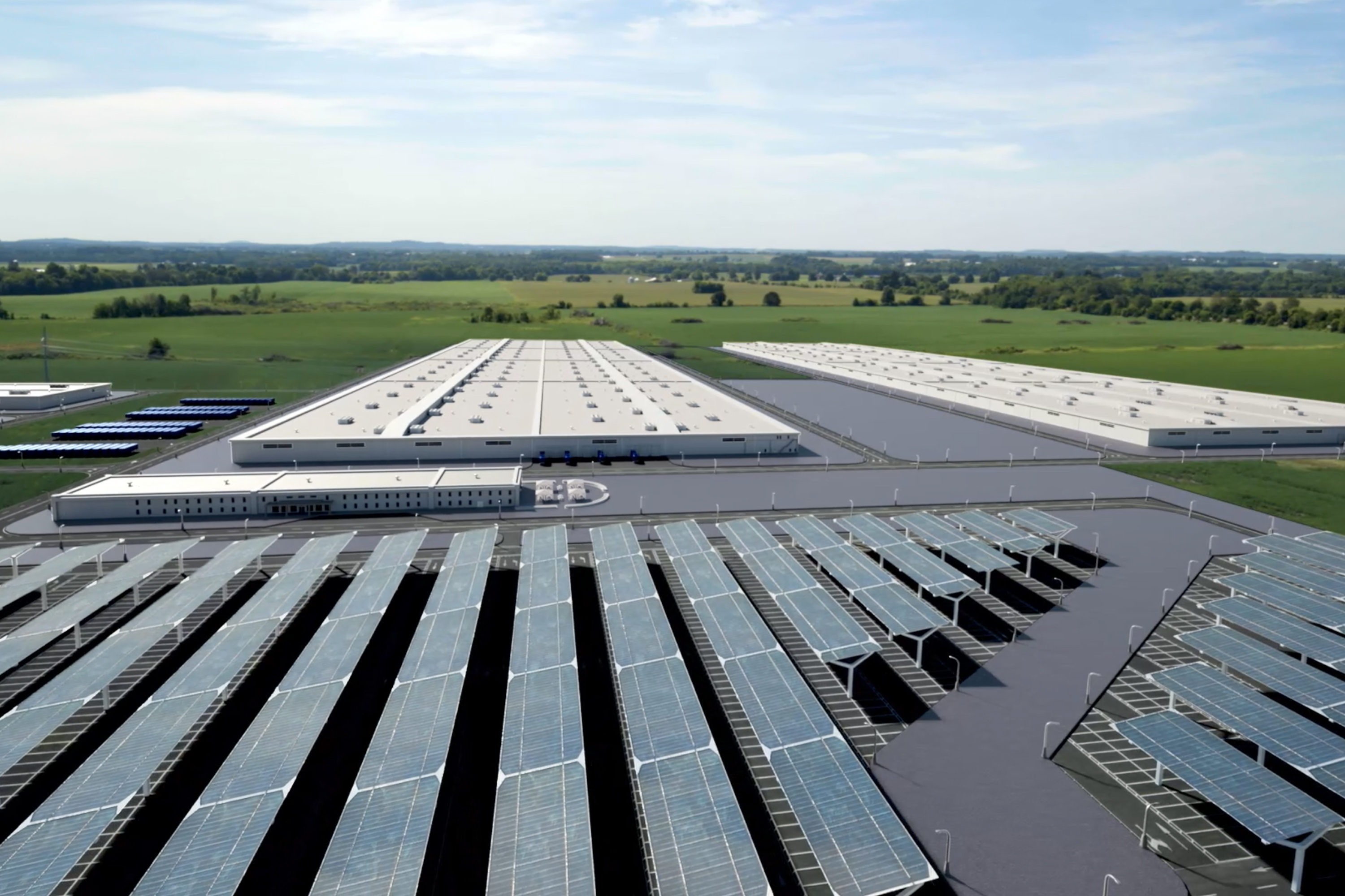 Ford Battery Plants Investment - factory