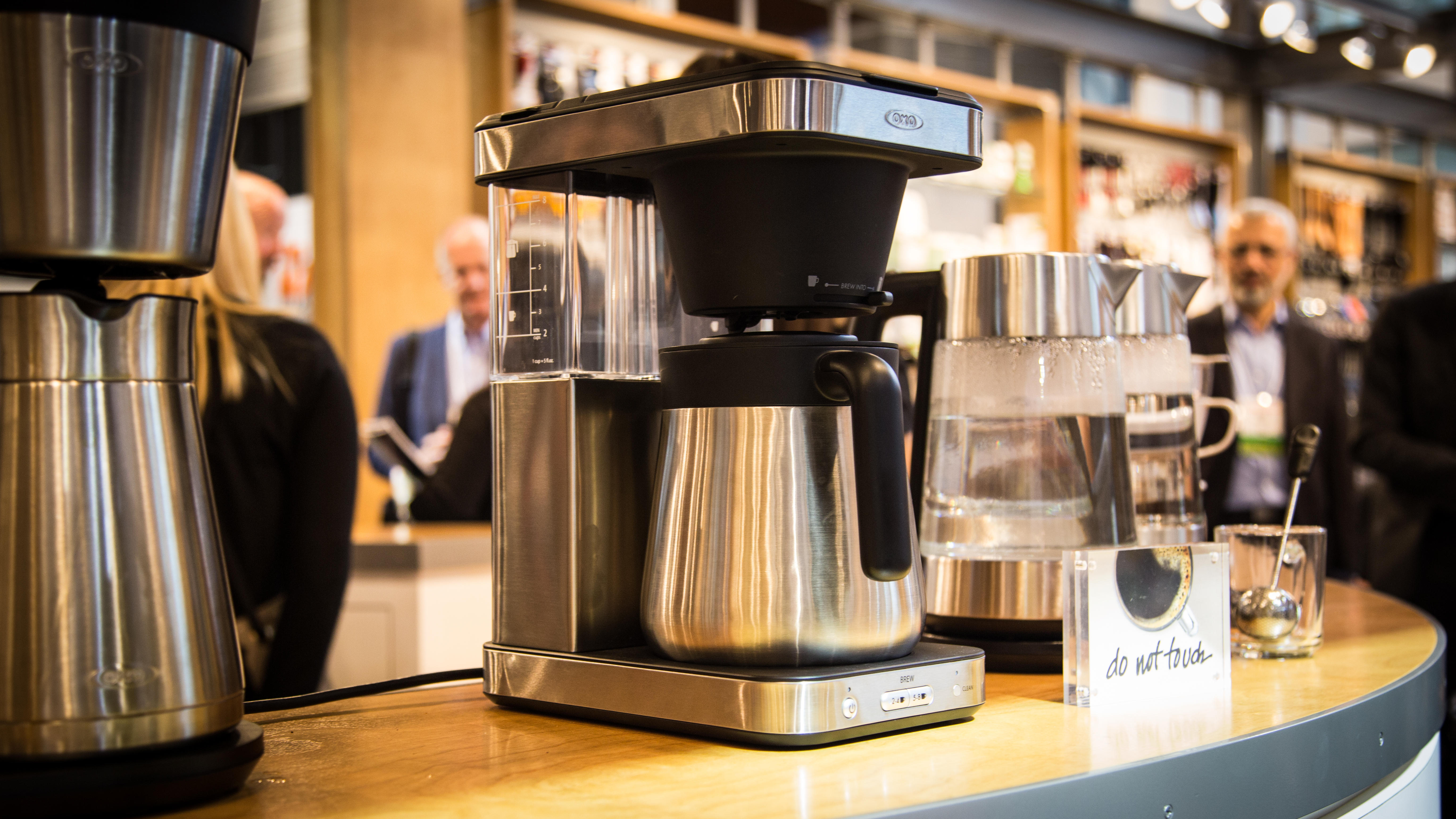Oxo's two new coffee makers; one brews hot, the other cold