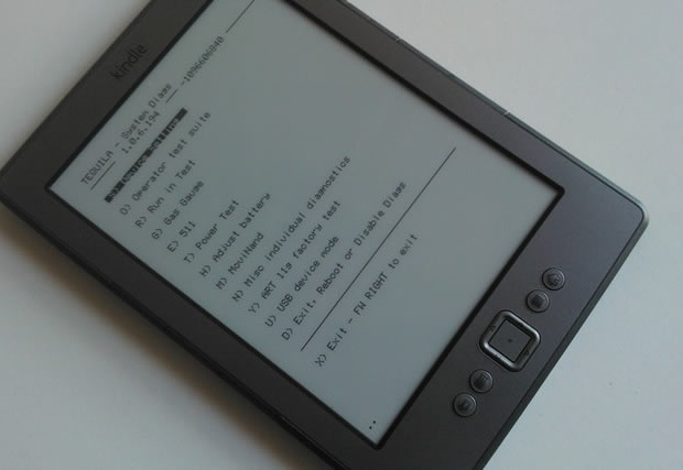 How to change the Amazon Kindle's screensaver: Kindle diagnostic mode