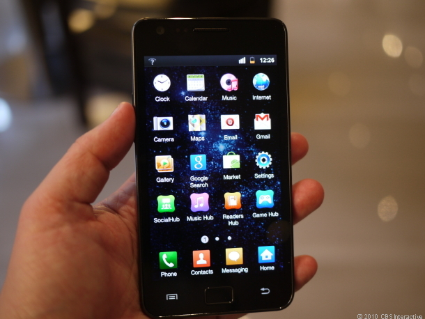 The successor to the Galaxy S II could offer a 1280x720 pixel resolution.