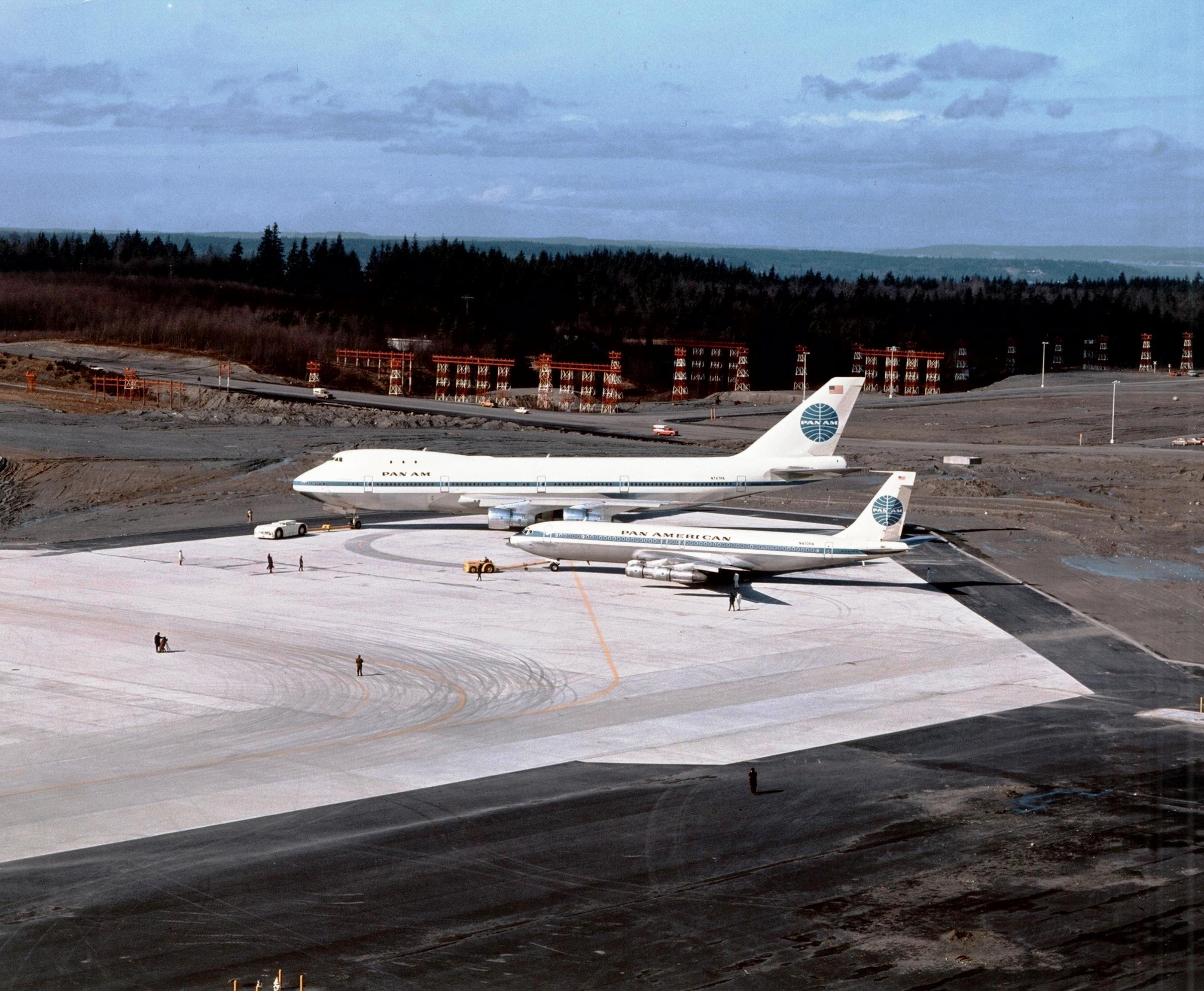 A Boeing family