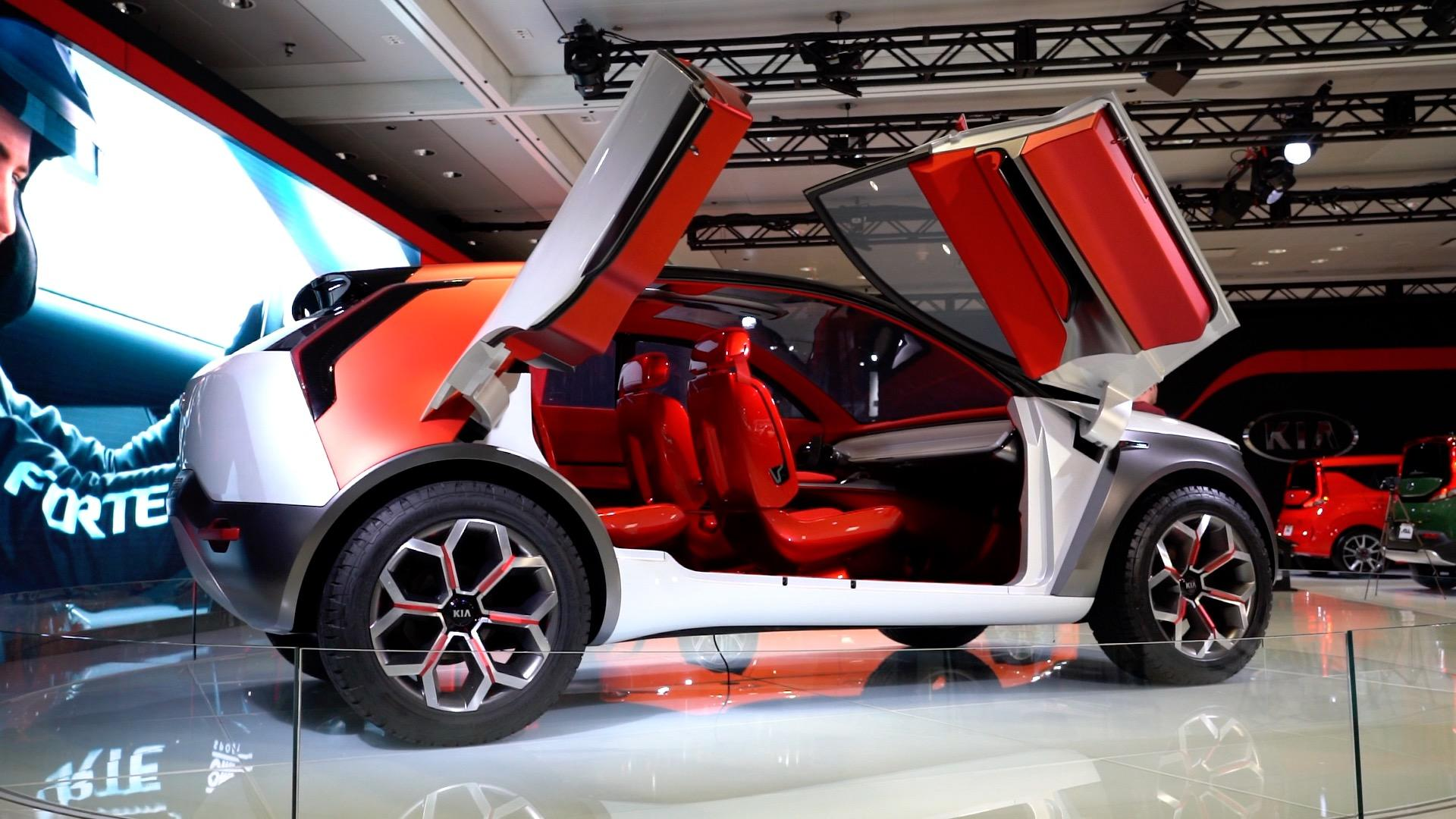 Video: Feel the heat from Kia's HabaNiro concept