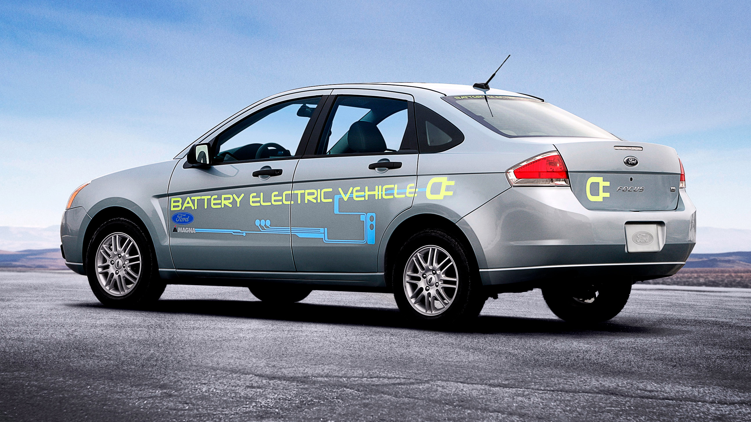 Battery-powered Ford Focus