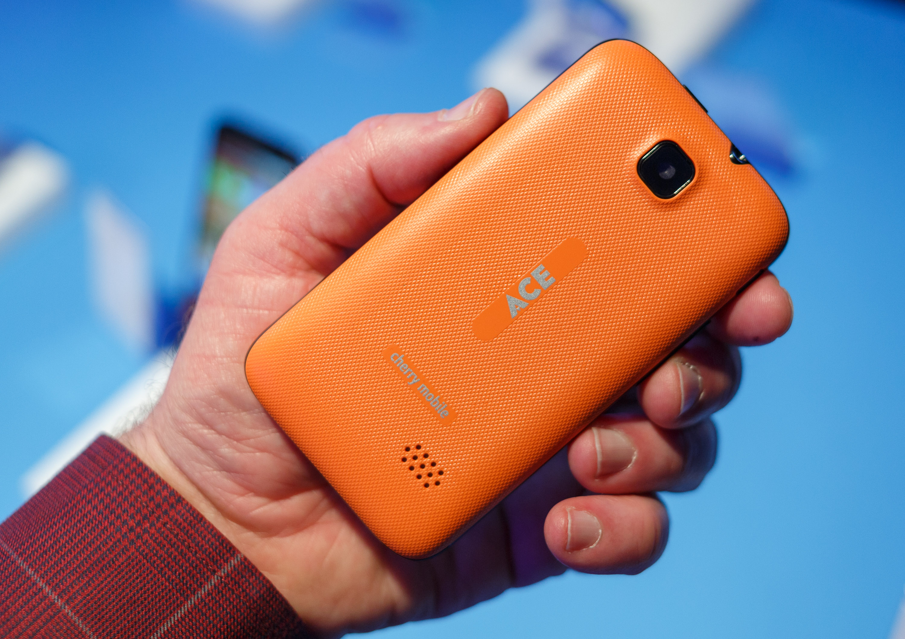 <p>The Ace, available from the Phillipino carrier Cherry Mobile, costs just $23. It runs Firefox OS, Mozilla's browser-based operating system. It's powered by a 1GHz ARM processor made by Chinese chipmaker Spreadtrum.</p>