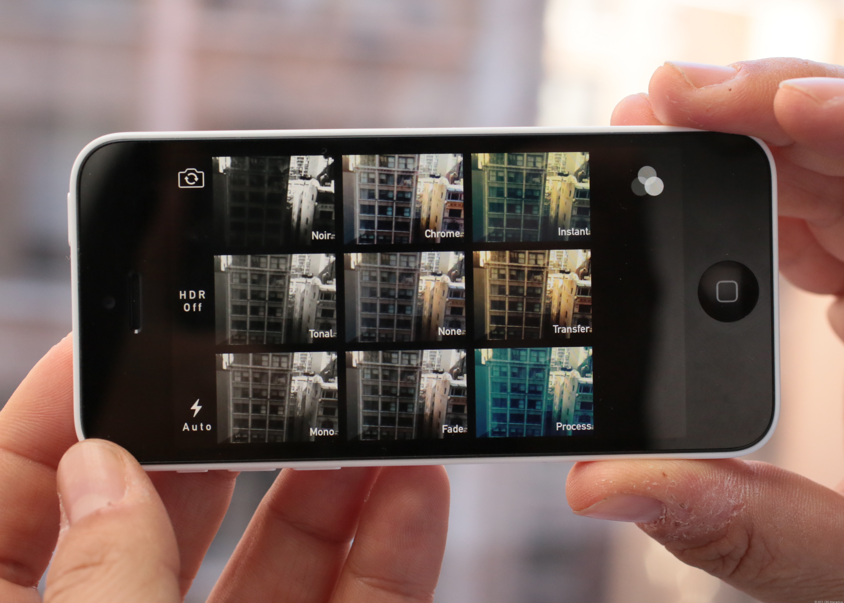 Image processing is one chore that could run faster on Apple's A7 chip inside the iPhone 5S -- but not necessarily because it's a 64-bit chip.