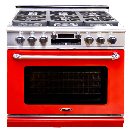 Connoisseurian: New line of Capital Cooking dual-fuel ranges.
