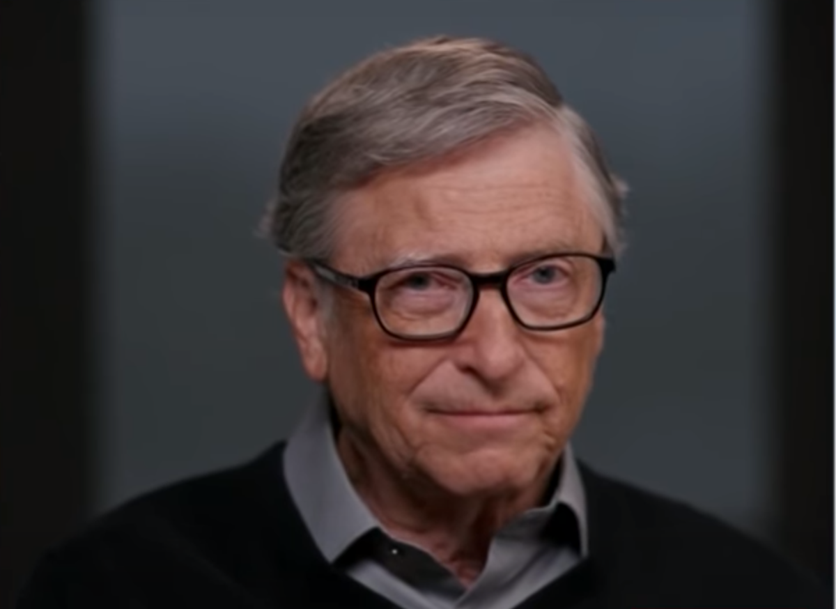 <p>Bill Gates is cautiously optimistic about the future.</p>