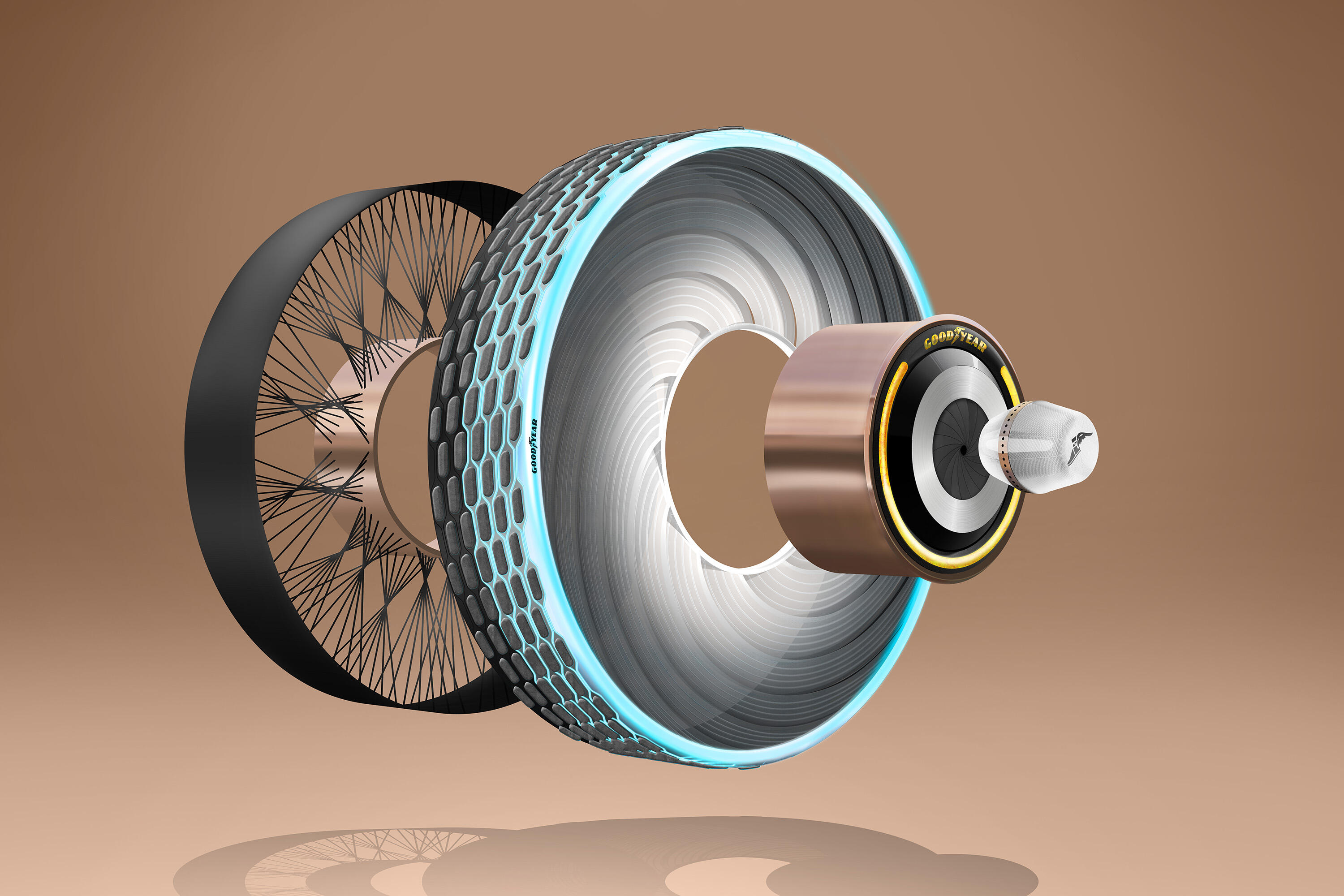 Goodyear reCharge concept tire