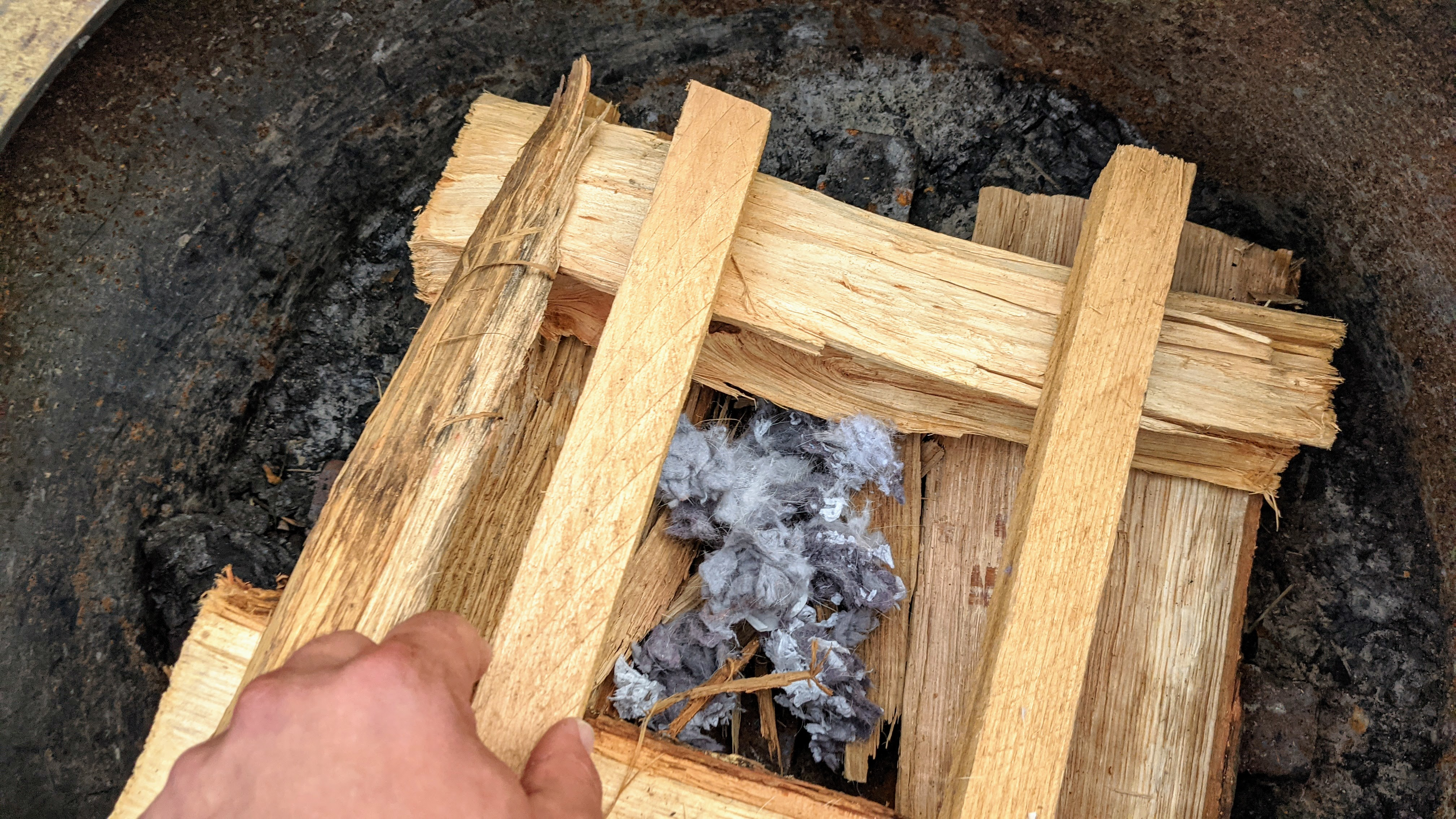Don't smell like a campfire log cabin