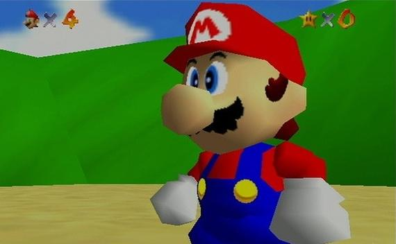 Top-selling N64 game: Super Mario 64