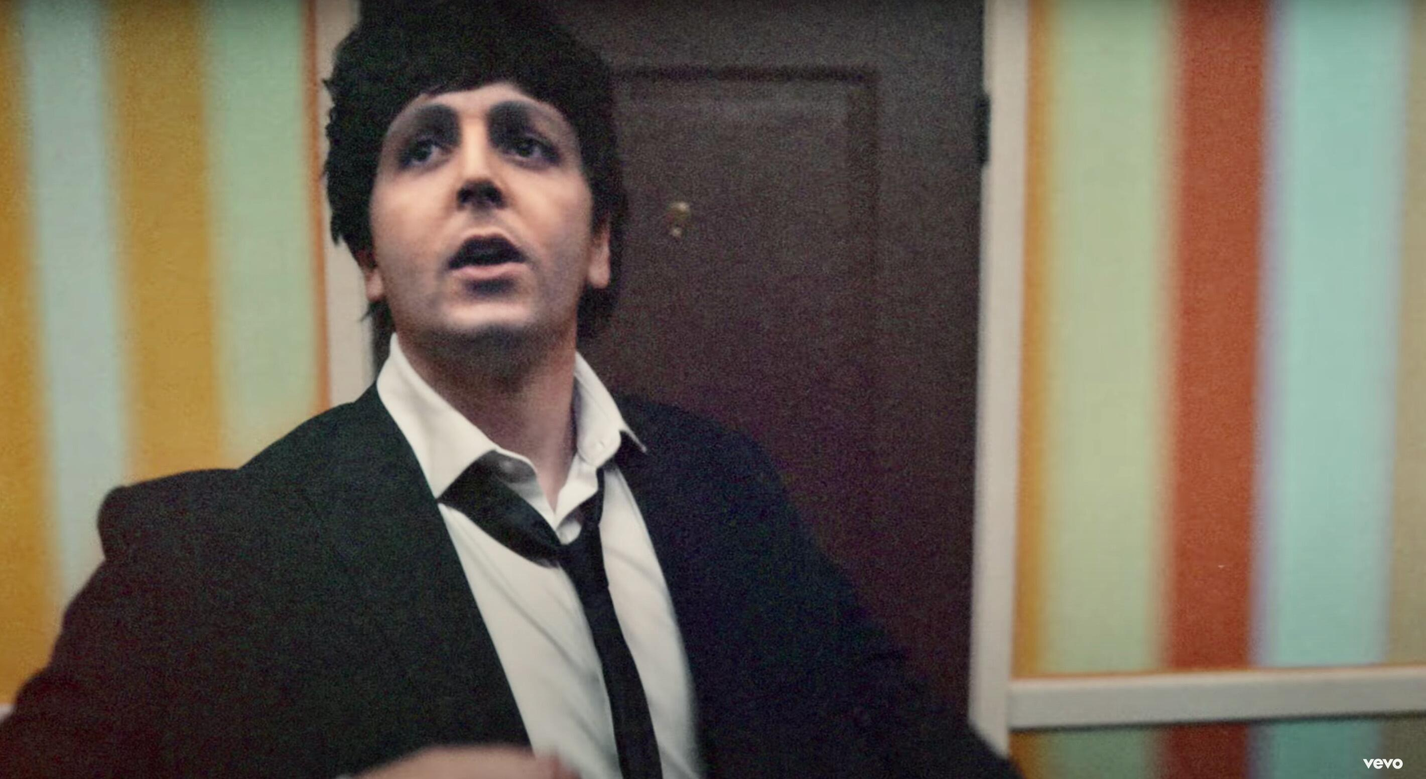 Deepfake version of young    Paul McCartney turns out to be … Beck?