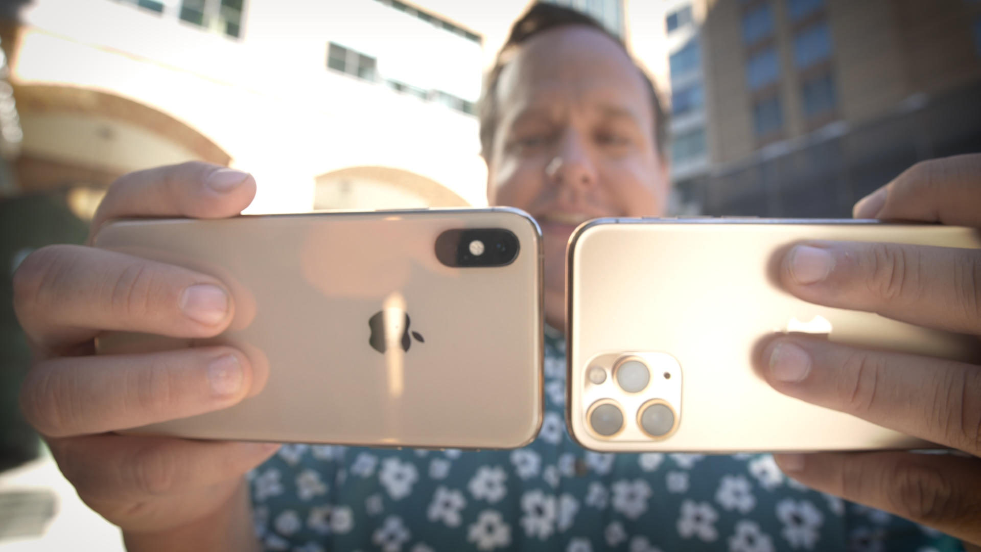 Video: We compare the cameras on the iPhone 11 Pro and iPhone XS